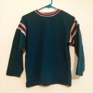 80s stripes sweater